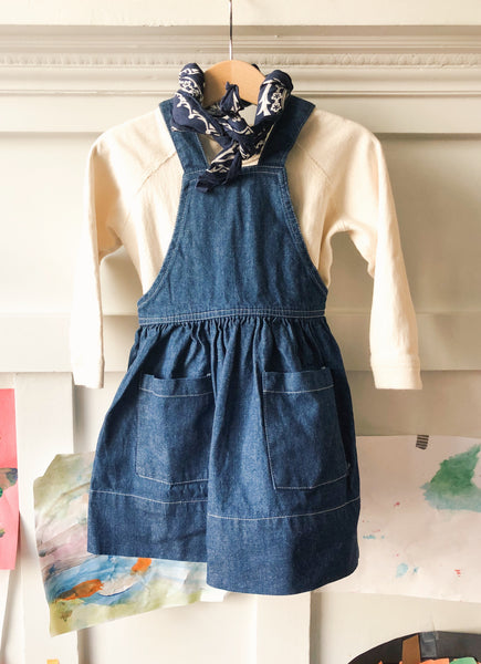 Japanese Denim Pinafore