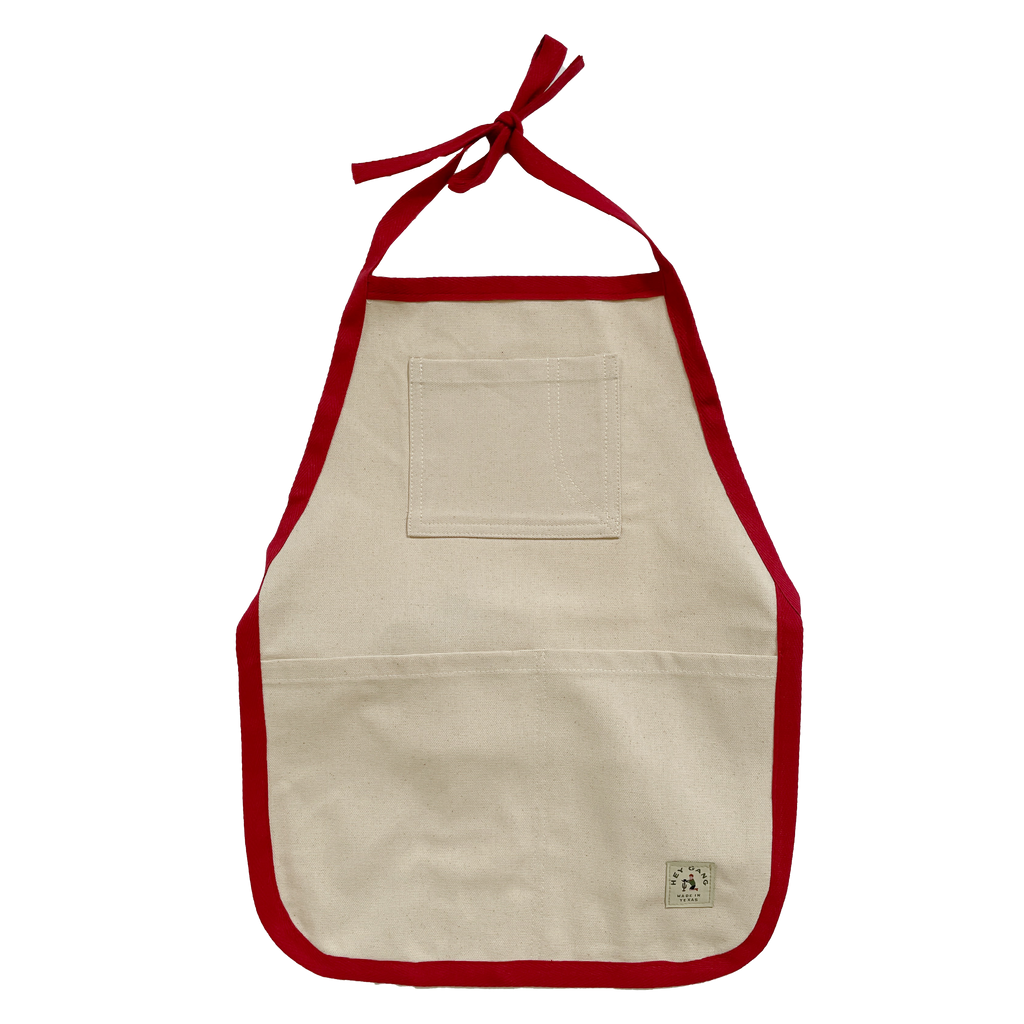 Work Apron Red