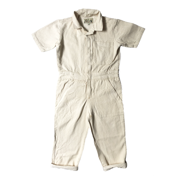The Coverall Natural Denim