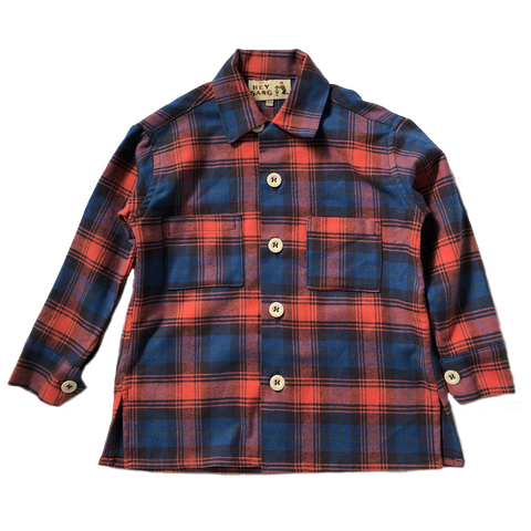 Flannel Workshirt Poppy