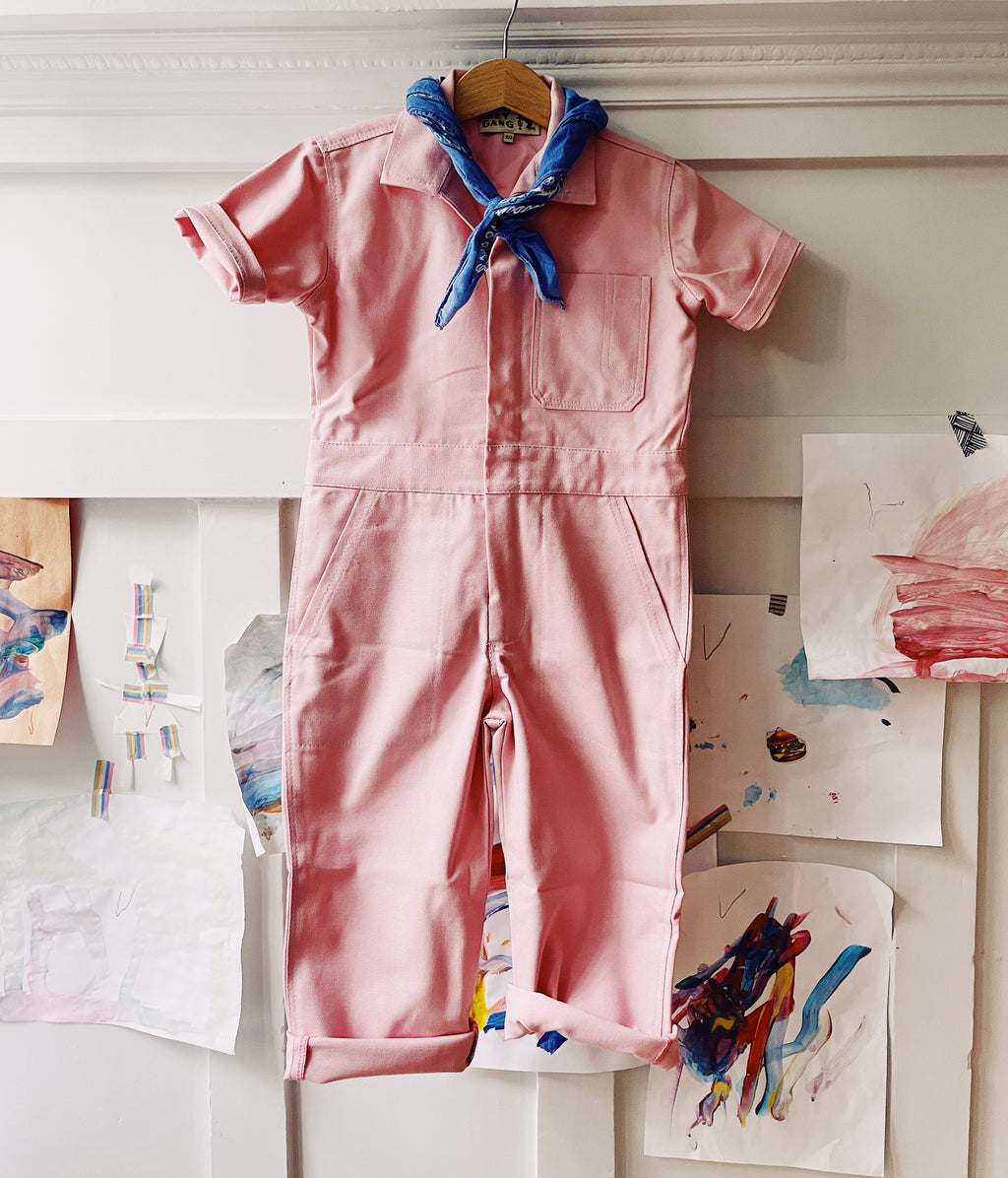 The Coveralls Dusty Pink