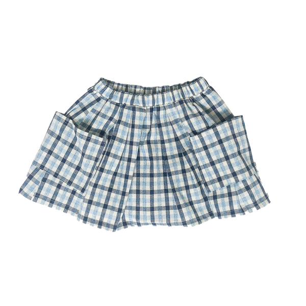 Two Pocket Skirt Gingham