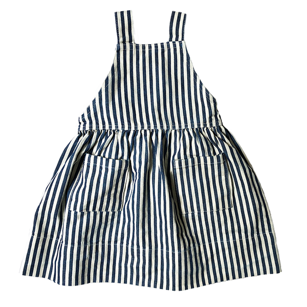 The Pinafore Conductor Stripe Denim