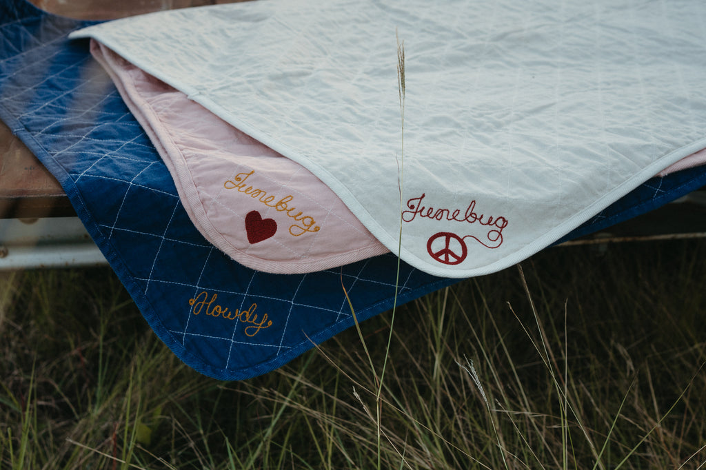Organic Quilted Toddler Blanket