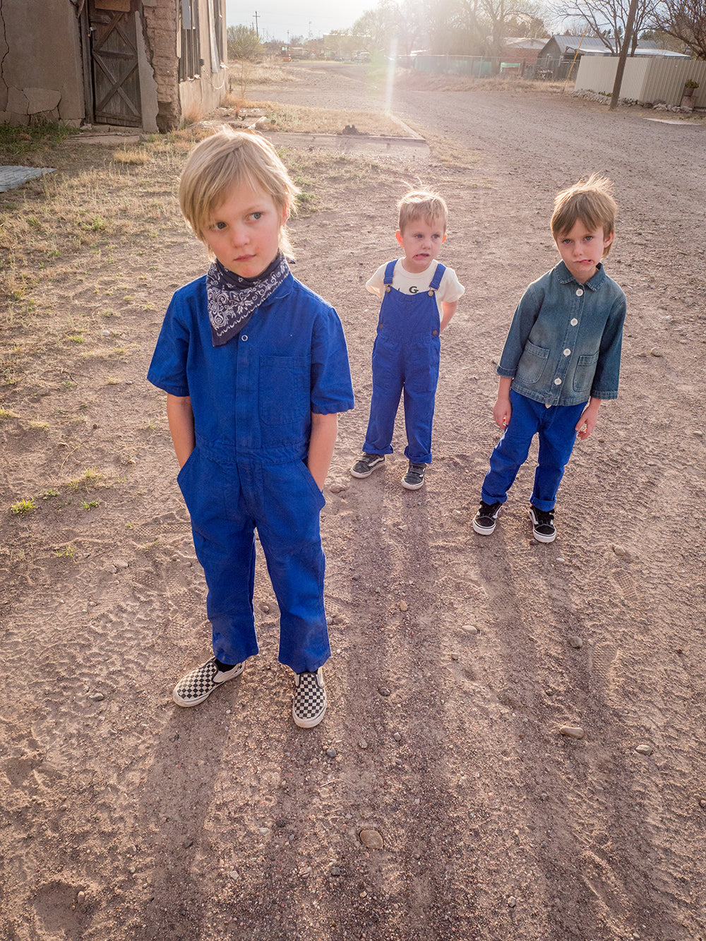 The Coverall Blue Sky