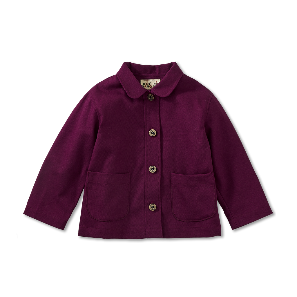 The Chore Coat Plum