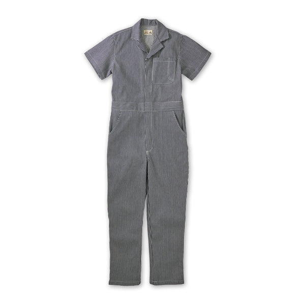Women's Coveralls Railroad Stripe Denim