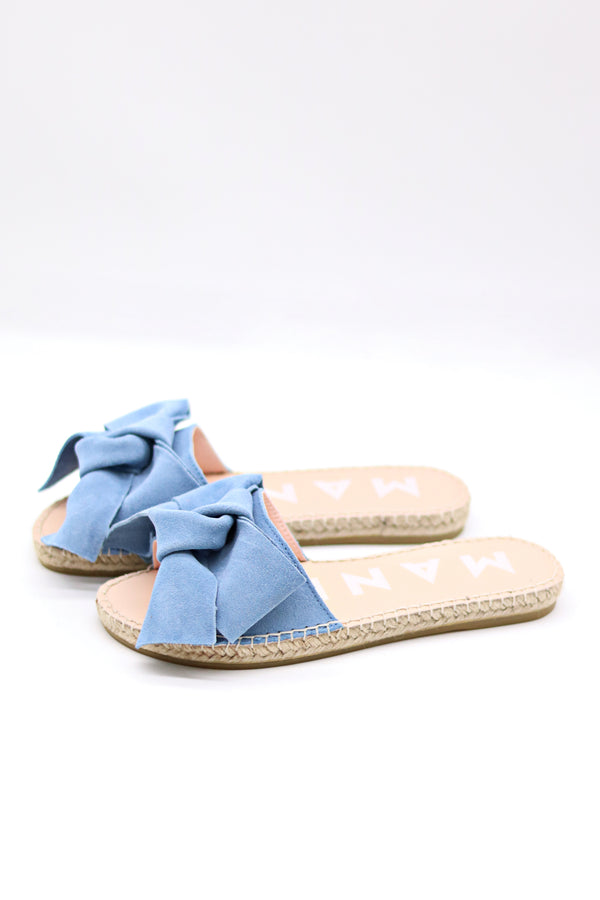 Hamptons Flat Sandal with Bow