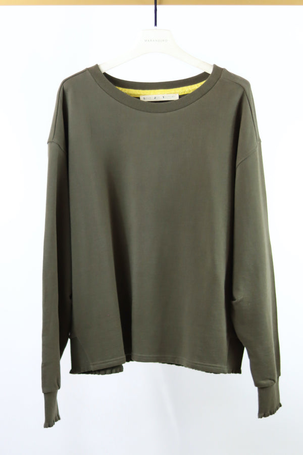 Pullover olive