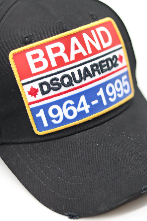 Brand Patch Embroidered Baseball Cap