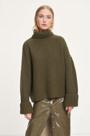 KEIKO PULLOVER OLIVE