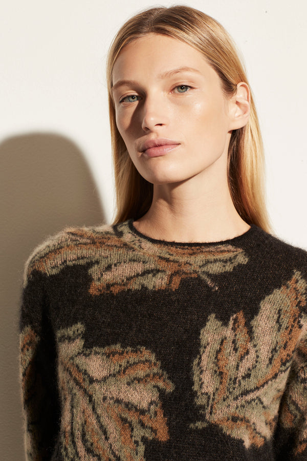 LEAF Mohair Pullover