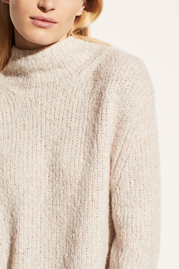 Textured Flunnel Pullover
