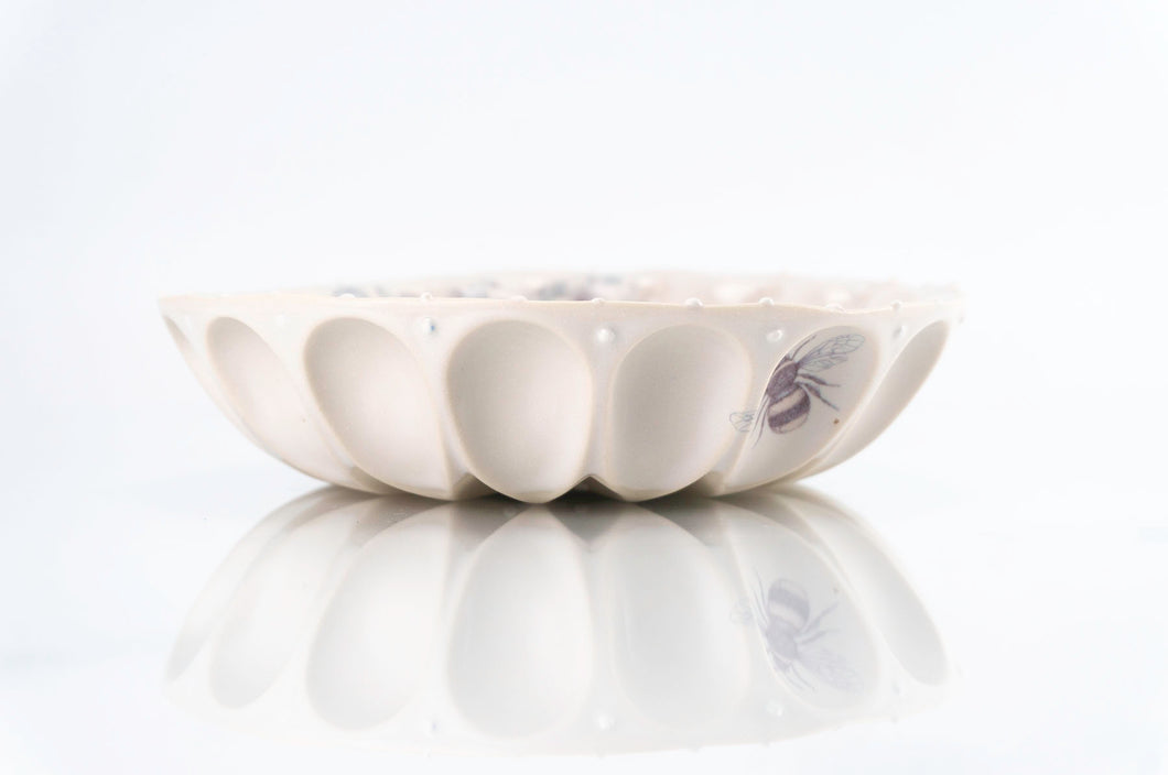 Flower Wave Bowl (b-124)
