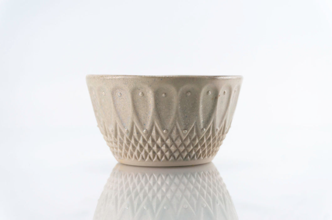 Brown Gray Pattern Cup (c-222)