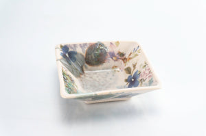 Flower Square Dish (d-121)
