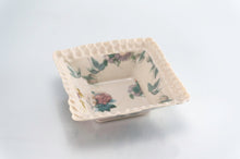 Load image into Gallery viewer, Flower Dimpled Square Dish (d-124)