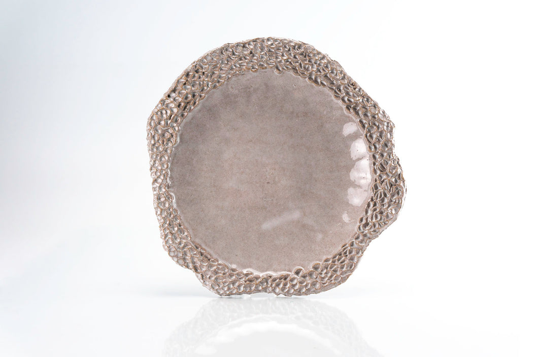 Dimpled Rimmed Medium Plate (p-282)
