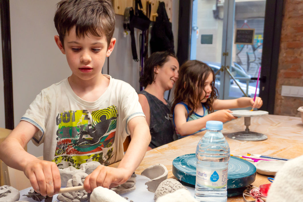 Family Clay Date at Pottery Studio - Mar 14 2020 | 10:00 am CET