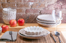 Load image into Gallery viewer, Modern Dimpled 3-Piece Place Setting | Wave Bowl | Table Setting