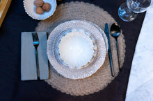 Load image into Gallery viewer, Modern Dimpled 4-Piece Place Setting | Table Setting