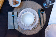 Load image into Gallery viewer, Textured Rim 5-Piece Place Setting | Table Setting