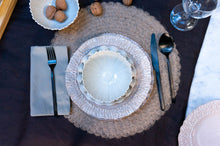 Load image into Gallery viewer, Textured Rim 4-Piece Place Setting | Table Setting