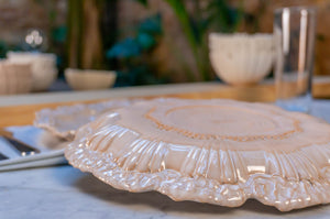 Wave Edge Plate | Dinner Plate | Large Plate
