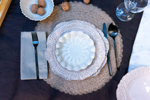Load image into Gallery viewer, Wave Rim 3-Piece Place Setting | Wave Bowl | Table Setting