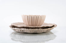 Load image into Gallery viewer, Wave Rim 3-Piece Place Setting | Ridged Bowl | Table Setting