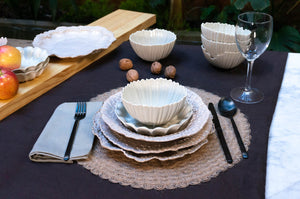 Wave Rim 5-Piece Place Setting | Table Setting