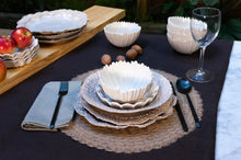 Load image into Gallery viewer, Wave Rim 5-Piece Place Setting | Table Setting