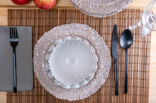 Load image into Gallery viewer, Medium Rimmed Plate 3-Piece Place Setting | Two Bowls | Table Setting