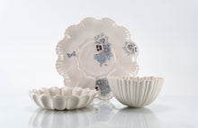 Load image into Gallery viewer, Butterfly and Flower Plate 3-Piece Place Setting | Table Setting