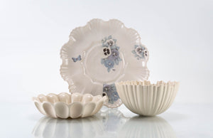 Butterfly and Flower Plate 3-Piece Place Setting | Table Setting