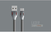 Laser Series  Type-C Cable with LED indicator RC-035a -- Charging & Data Cable - Remax online