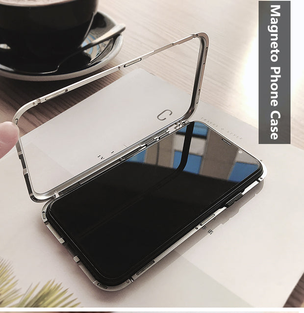save off 9bc8f 43298 Magneto Glass Case for iPhone 8 & 8 Plus & iPhone X – Remax online