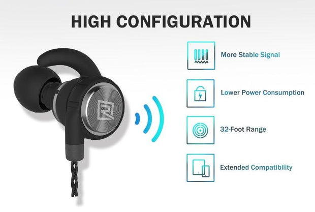 Sport Magnetic Bluetooth Headphones RB-S10 – Remax online 4f4512a38b