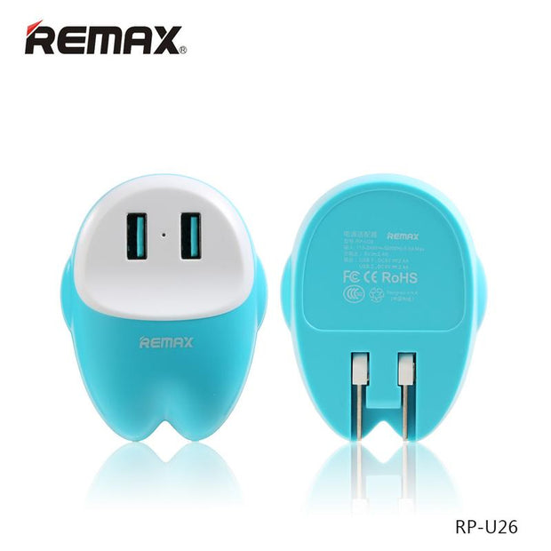 EVA 2 USB Charger 6.2A RP-U26 - Remax online
