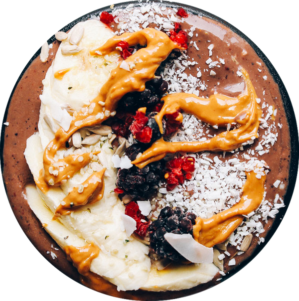 Nutty Acai Smoothie Bowl (Vegan, GF)