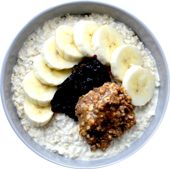 Protein Power Coconut Porridge (Vegan Breakfast)