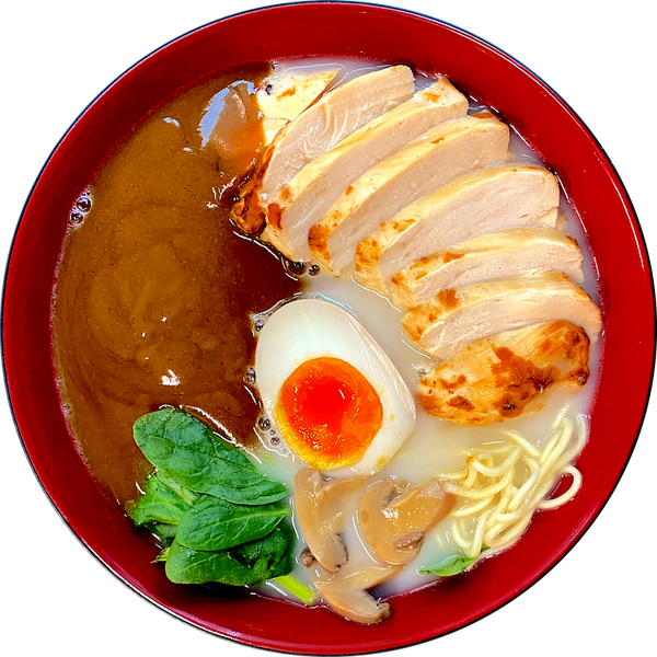 Curry Chicken Ramen 拉麵 (Soup Noodle)