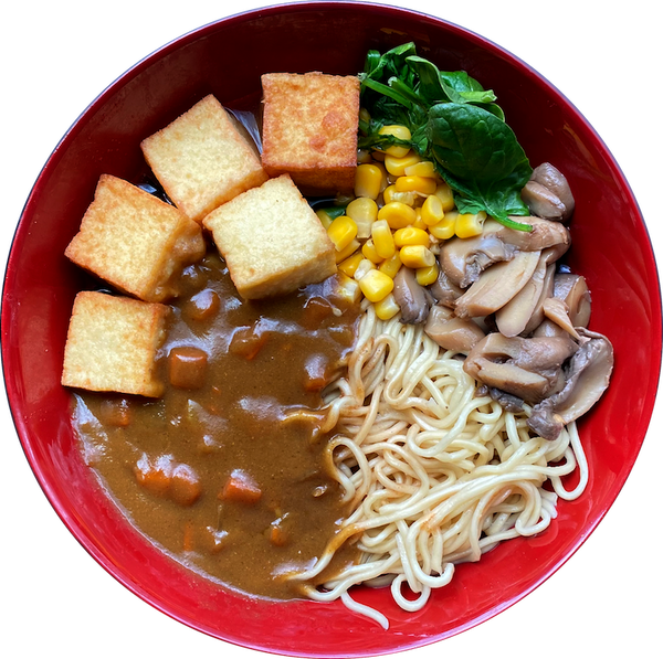 Curry Tofu Ramen 拉麵 (Soup Noodle)