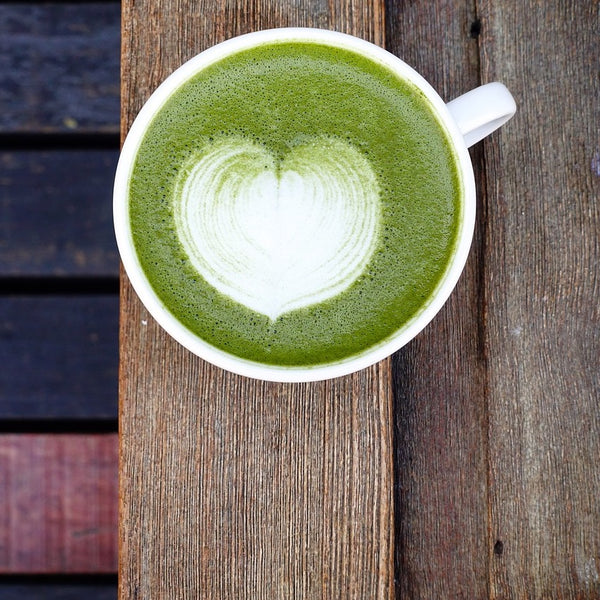 How to make a Vegan Coconut Matcha Latte