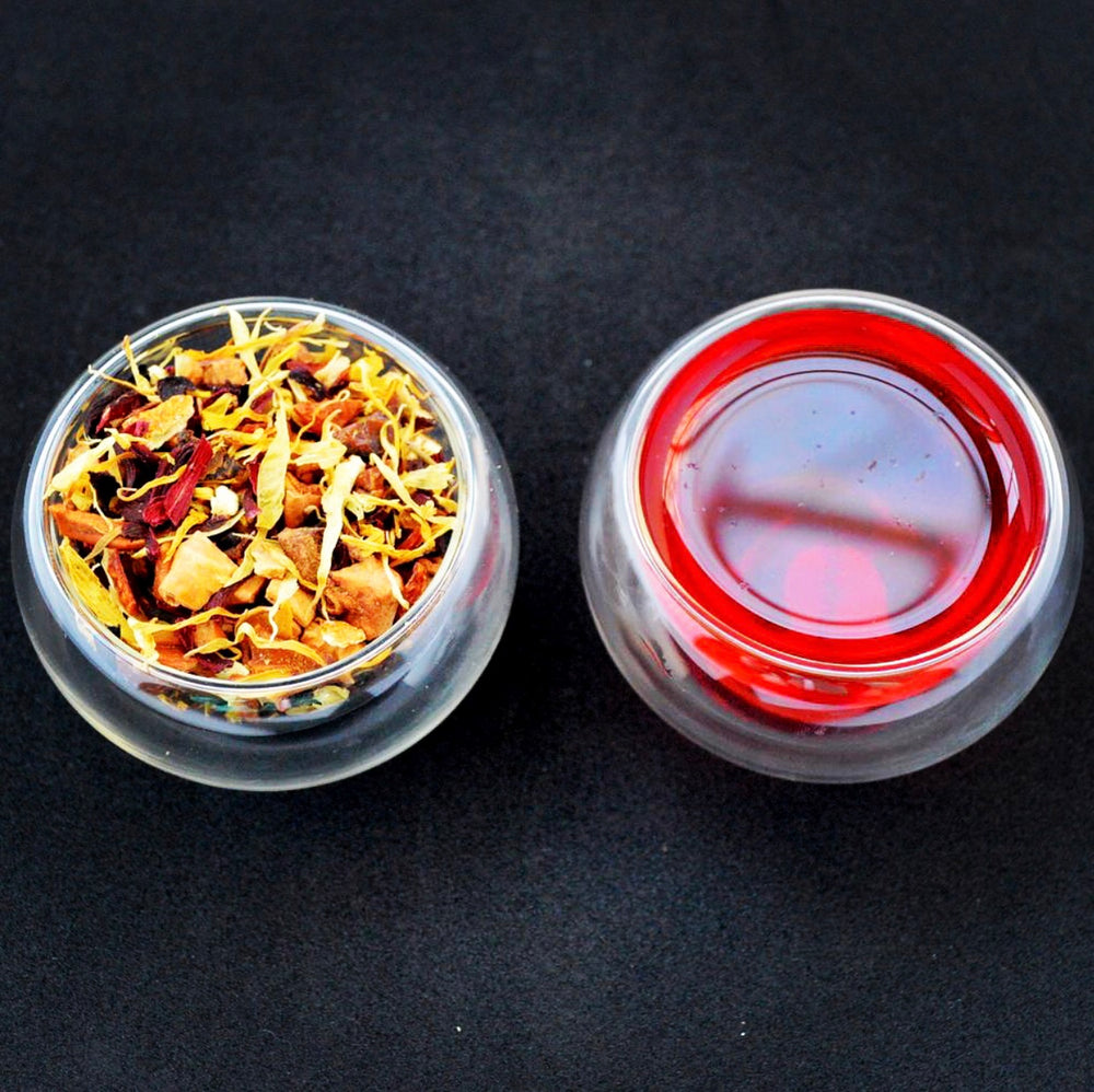 Apple Rosehip Loose Leaf Herbal Infusion Tea
