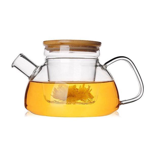 Loose Leaf Tea Glass Teapot