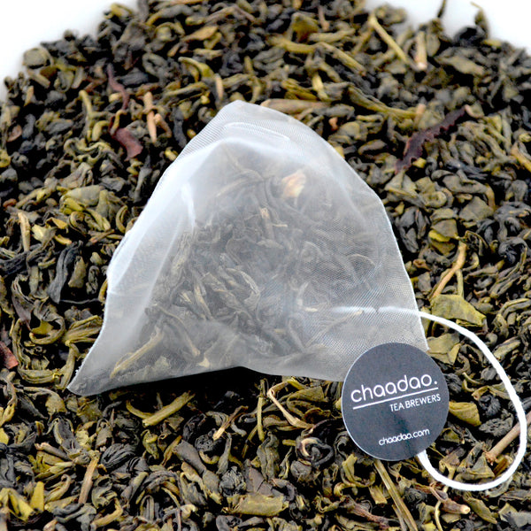Jasmine Green Loose Leaf Tea Pyramid bags