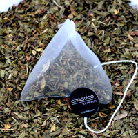 Cool Peppermint Herbal Tea Pyramid Bags