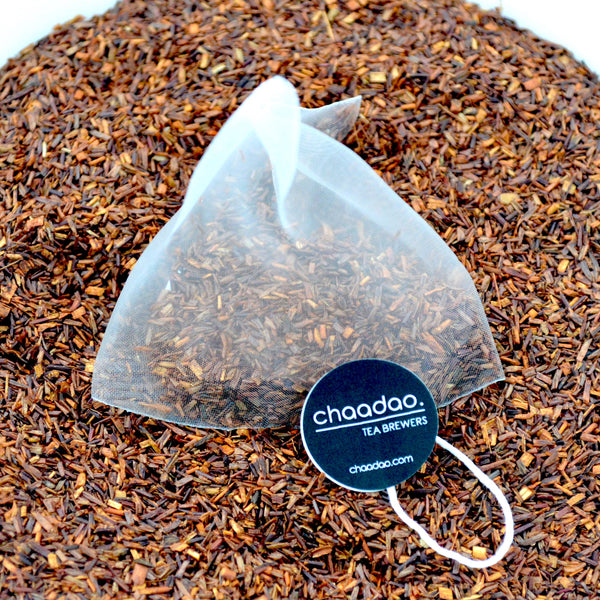 Sweet Rooibos Loose Leaf Tea Pyramid bags