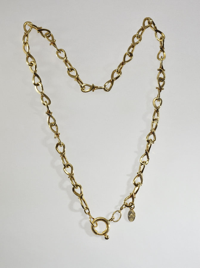 "14ky ""Infinity Link"" Necklace"